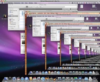 Screenshot of screen sharing loop