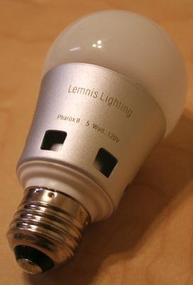 Lemnis LED bulb