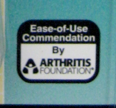 Ease-of-Use Commendation by Arthritis Foundation