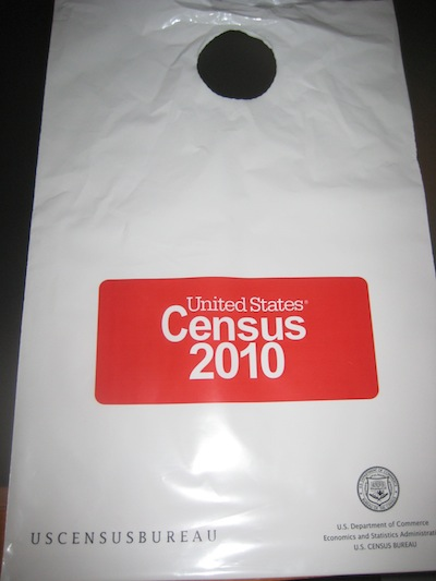 2010 Census bag