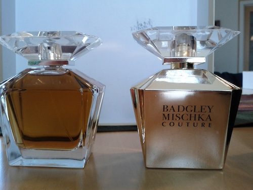 Badgley Mischka perfume bottles