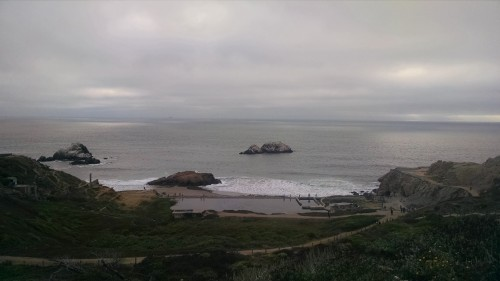View of ocean from Land's End