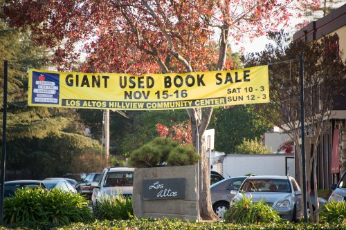 Giant used book sale